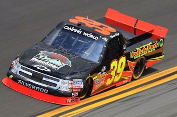 We are a sponsor of Nascar Truck Series truck driven by #39 Ryan Sieg